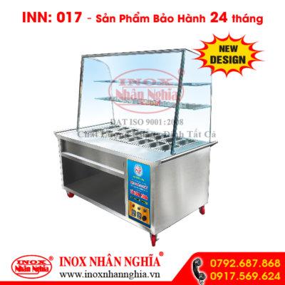 Tủ hâm nóng thức ăn mẫu 017