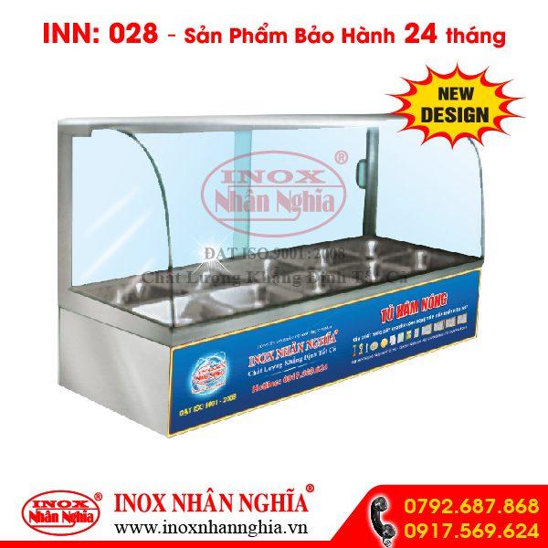 Tủ hâm nóng thức ăn mẫu 028