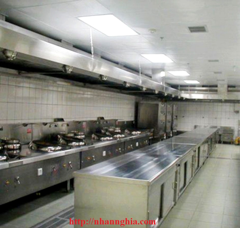 thi công bếp khu công nghiệp