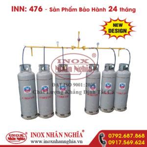 hệ thống bình gas công nghiệp