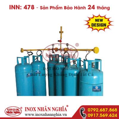 hệ thống dẫn gas công nghiệp