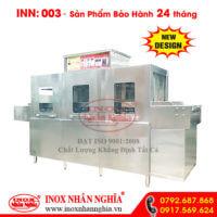 máy rửa chén tự động loại lớn dành cho nhà hàng lớn