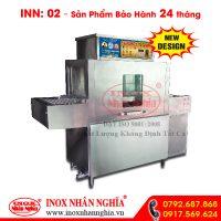 máy rửa chén tự động công nghiệp nhân nghĩa loại trung