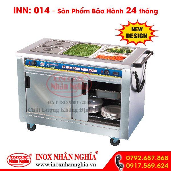 Tủ hâm nóng thức ăn mẫu 014