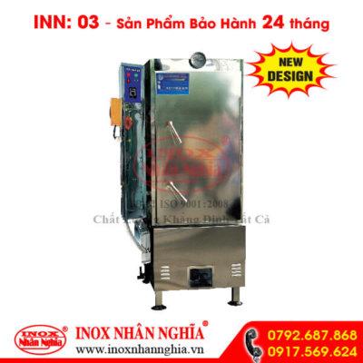 tủ hấp cơm sử dụng điện và gas 1 cánh không kính