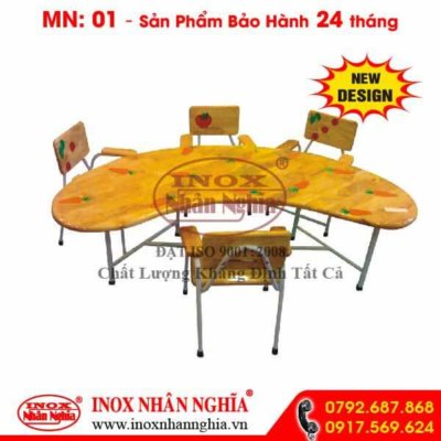 bộ bàn ghế học sinh 01