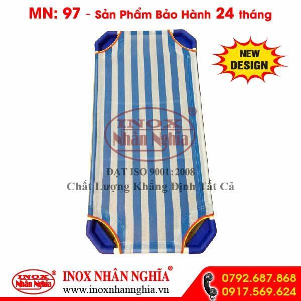 giường xếp vải
