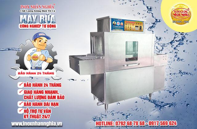 bảo hành máy rửa chén công nghiệp