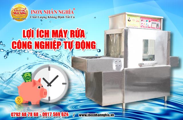 lợi ích máy rửa công nghiệp loại vừa