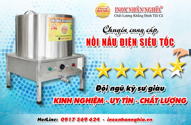 Chuyên cung cấp nồi nấu điện siêu tốc chất lượng