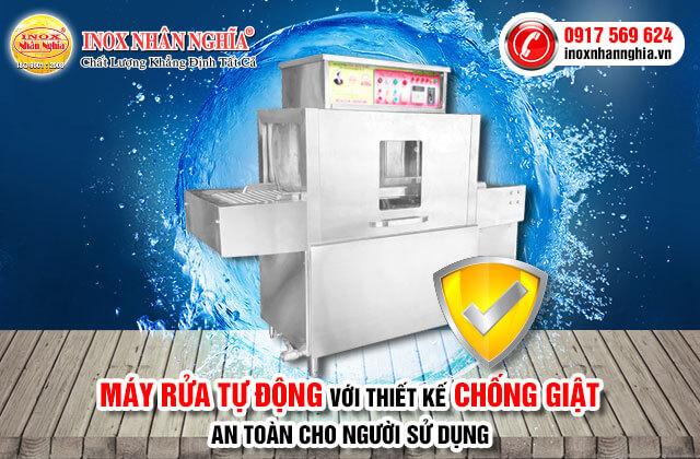 máy rửa bát an toàn và tiết kiệm điện