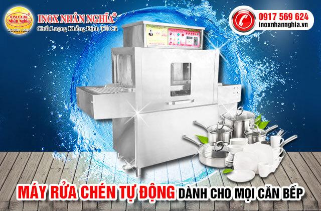 máy rửa bát tự động giá chính hãng