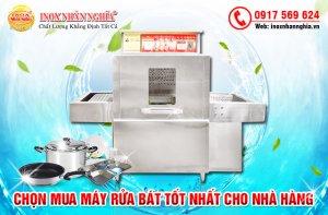Máy rửa bát cho nhà hàng tiết kiệm chi phí điện nước