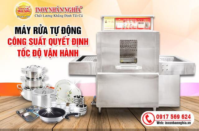 chọn công suất để mua máy rửa bát công nghiệp cho bếp ăn