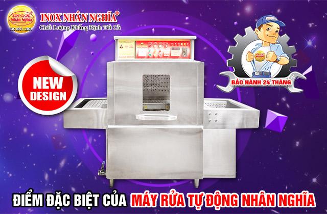điểm đặc biệt của máy rửa bát công nghiệp Nhân Nghĩa
