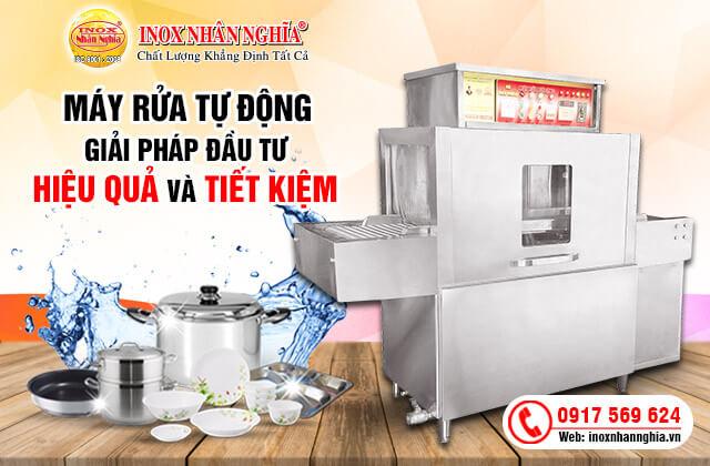 máy rửa bát công nghiệp cho bếp ăn sự lựa chọn hoàn hảo