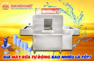 giá máy rửa chén công nghiệp Nhân Nghĩa bao nhiêu