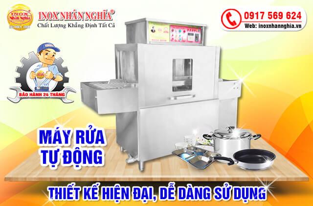 máy rửa bát công nghiệp tự động dễ dàng trong cách sử dụng