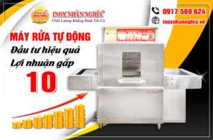 Máy rửa chén đĩa công nghiệp tự động đem lại hiệu quả kinh tế cao