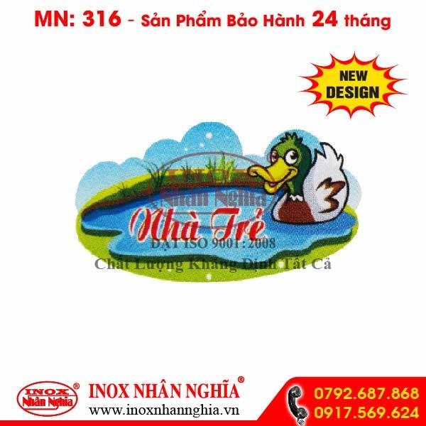 Bảng tên lớp MN316