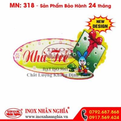 Bảng tên lớp MN318