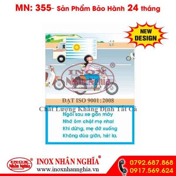 Bảng tuyên truyền giao thông 355