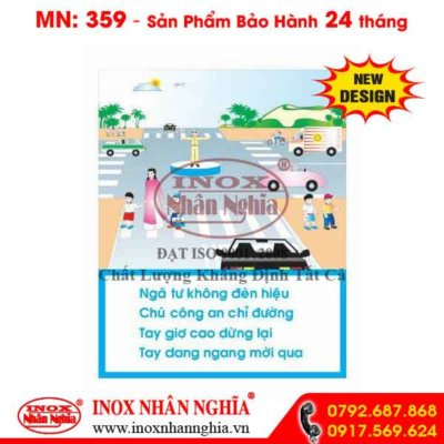 Bảng tuyên truyền giao thông 359