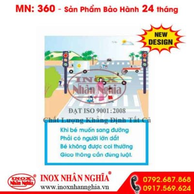 Bảng tuyên truyền giao thông 360