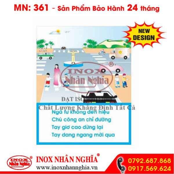 Bảng tuyên truyền giao thông 361