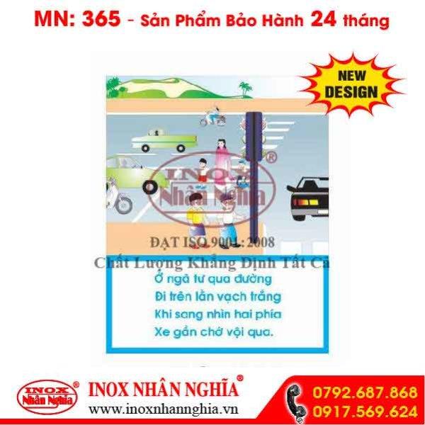 Bảng tuyên truyền giao thông 365