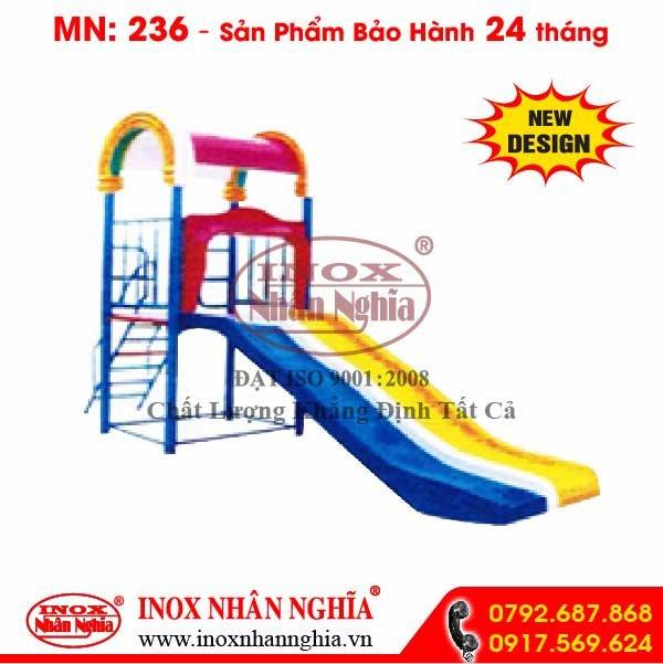 Cầu trượt mầm non 236
