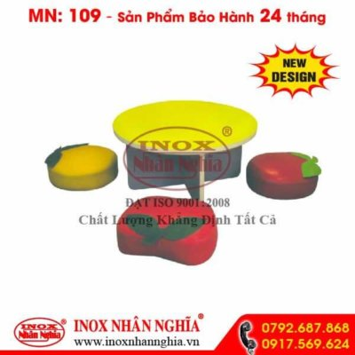 bộ bàn ghế trái cây