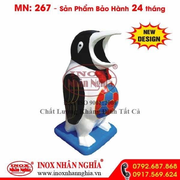 Thùng rác composite MN267